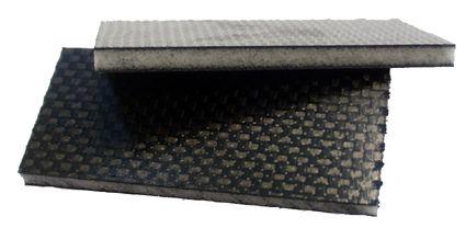 CFK-Sandwich-Platte 680 x 530 x 10 +/- 0,2 mm