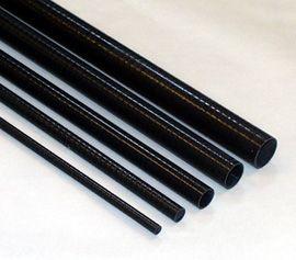 Ø 14/16 mm CFK-Rohr, Länge 1000 mm, Wickelstruktur