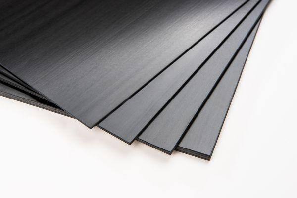 CFK-UD-Platte 535 x 305 x 1 +/- 0,2 mm